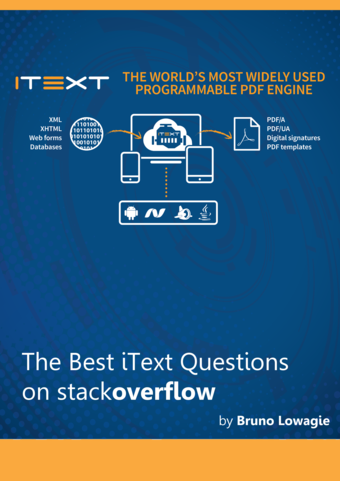 The Best iText Questions on StackOverflow