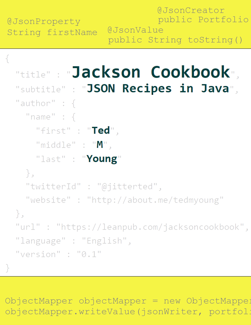 The Jackson Cookbook by Ted M  Young [Leanpub PDF/iPad/Kindle]