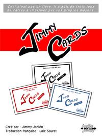 Jimmy Cards - Jeux de cartes rouge, noir et bleu