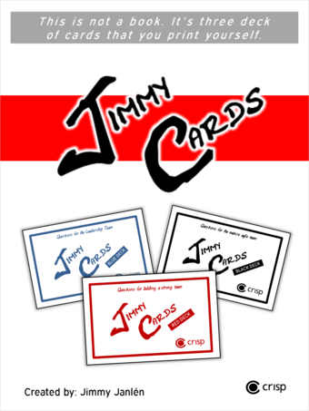 Jimmy Cards - Red, Black and Blue deck