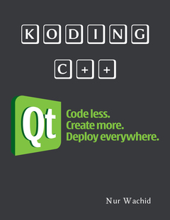 Koding C++ dengan Qt
