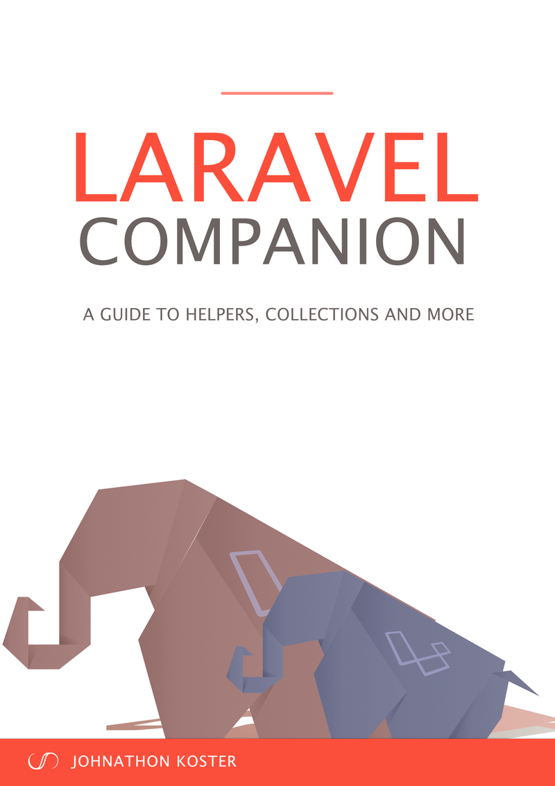 Laravel Companion by Johnathon Koster [Leanpub PDF/iPad/Kindle]