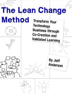 The Lean Change Method