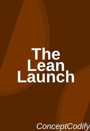 The Lean Launch