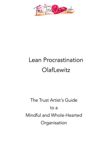 Lean Procrastination