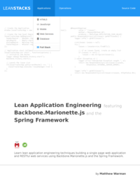 Lean Application Engineering