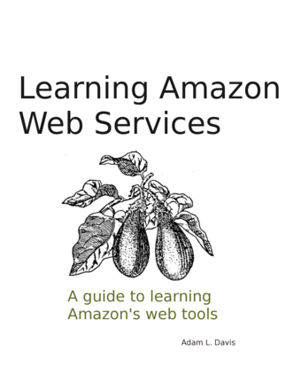 Learning Amazon Web Services