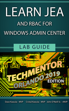 Learn JEA and (RBAC) for Windows Admin Center
