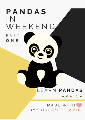 Learn Pandas Basics in Weekend