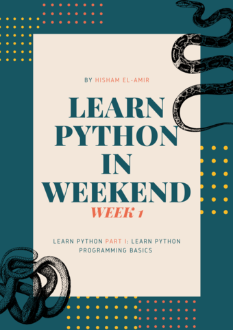 Learn Python Basics in Weekend