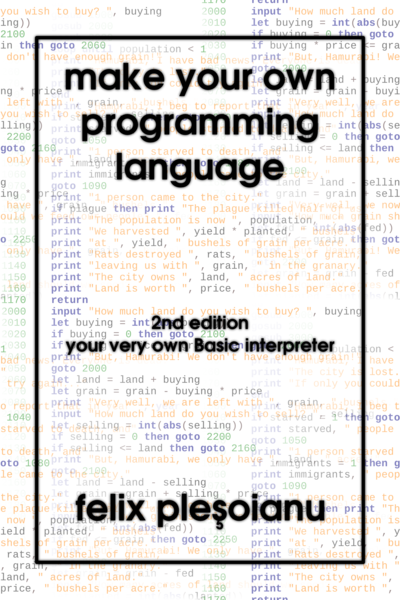 Make Your Own Programming Language