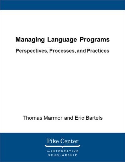 Managing Language Programs