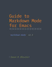Guide to Markdown Mode for Emacs