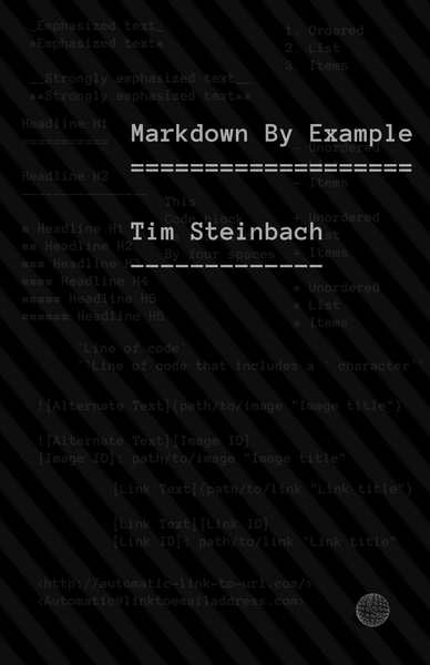 Markdown By Example