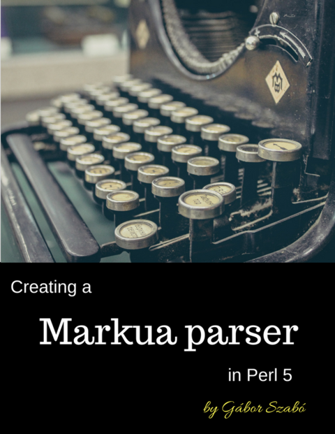 Perl Maven by Gábor Szabó [Leanpub PDF/iPad/Kindle]