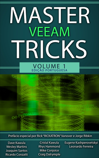 Master Veeam Tricks Volume 1 - Portuguese Edition