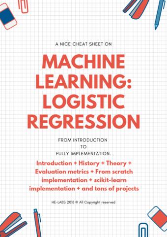 machine learning: logistic regression