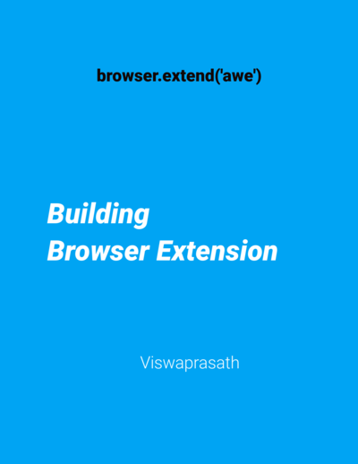 Building Browser Extension
