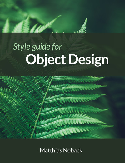 Style Guide for Object Design