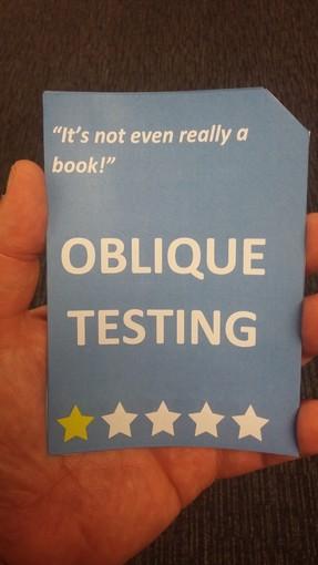 Oblique Testing