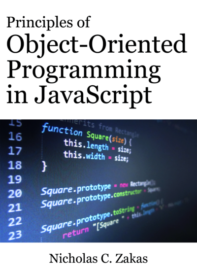 Principles of Object-Oriented Programming in JavaScript