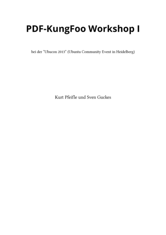 PDF-KungFoo Workshop I
