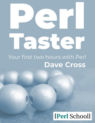 Perl Taster