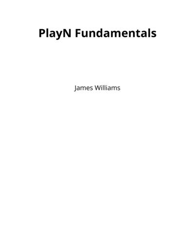 PlayN Fundamentals