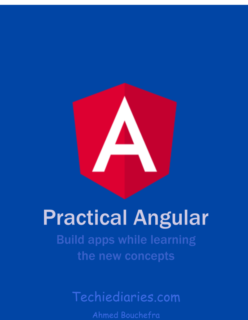 Angular 8 book
