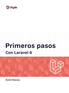Primeros pasos con Laravel 6