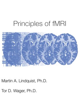 Principles of fMRI