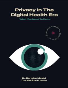 Privacy In The Digital Health Era