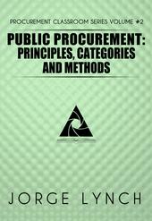 Read Public Procurement: Principles, Categories and Methods | Leanpub