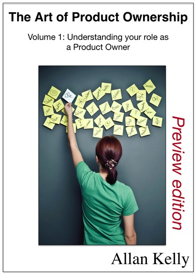 The Art of Product Ownership (volume 1)