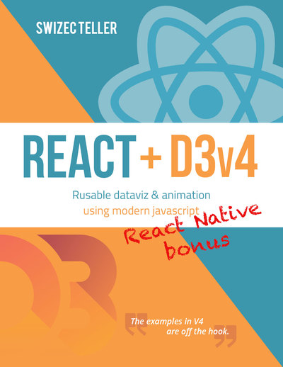 React + D3v4 React Native bonus