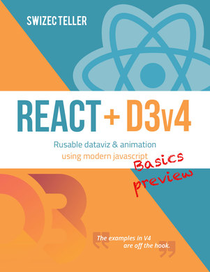 React + D3v4 sample basics