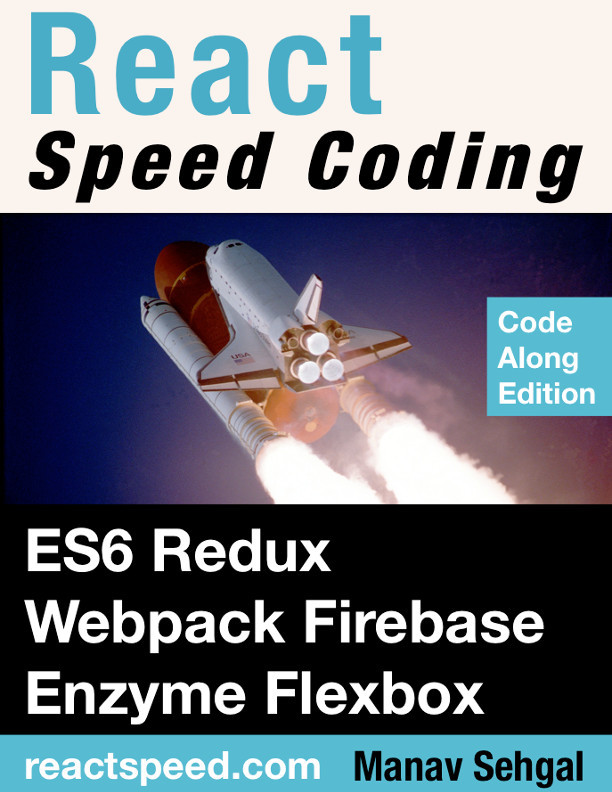 React Speed Coding by Manav Sehgal [Leanpub PDF/iPad/Kindle]