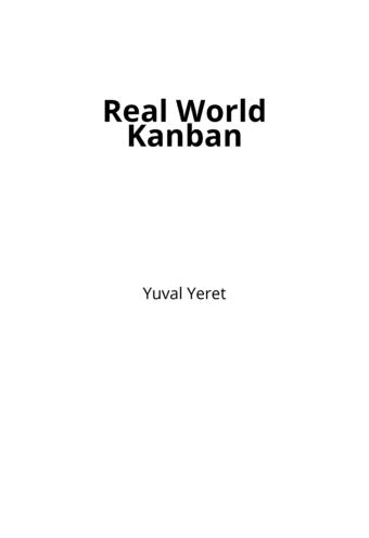 Real World Kanban
