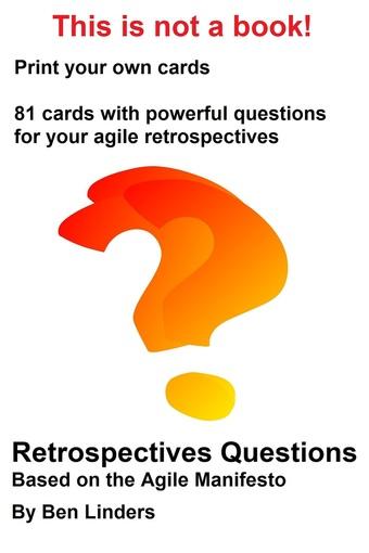 Agile Manifesto Retrospectives Questions Cards