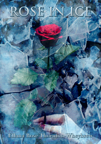Rose in Ice