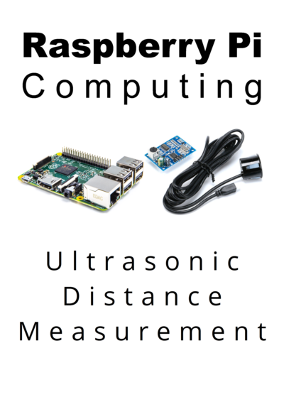 Raspberry Pi Computing: Ultrasonic Distance Measurement