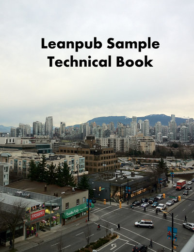 Sample Technical Book