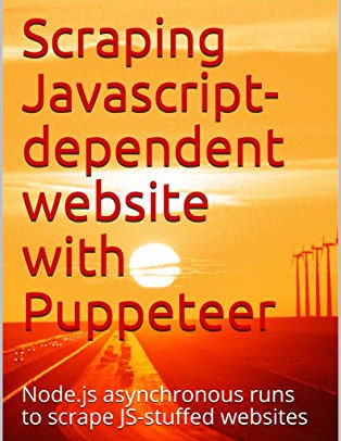 Scraping Javascript-dependent website with Puppeteer