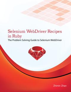 Selenium WebDriver Recipes in Ruby