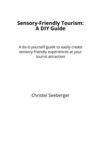 Sensory-Friendly Tourism:  A DIY Guide