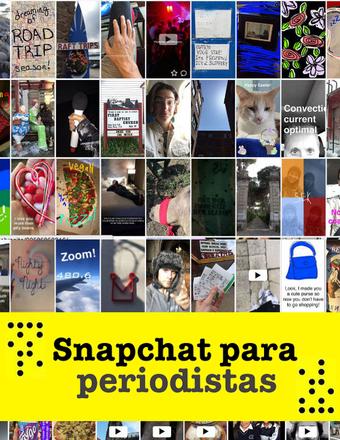 Snapchat para periodistas