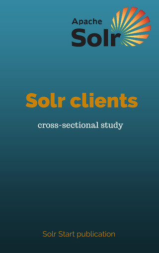 Solr clients - cross-sectional study