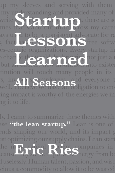 Startup Lessons Learned