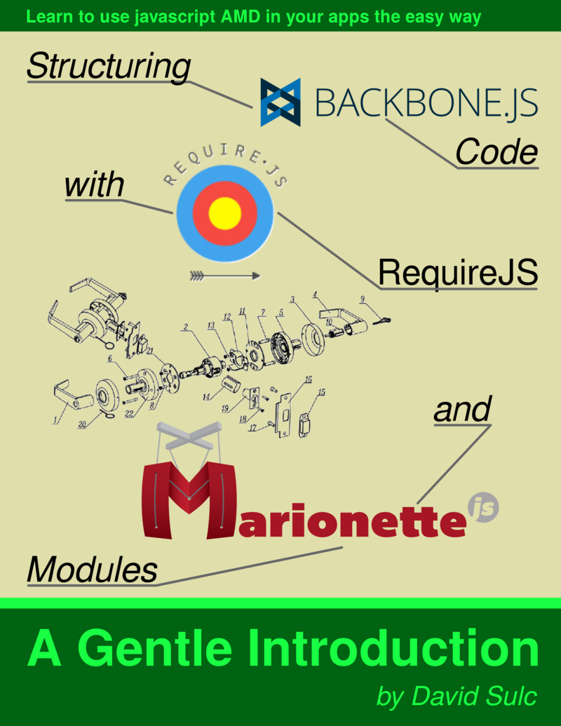 Structuring Backbone Code with… by David Sulc [PDF/iPad/Kindle]