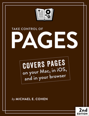 Take Control of Pages, Second Edition